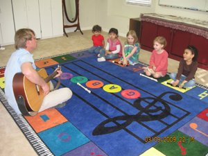 Learning To Play Music in Carmichael