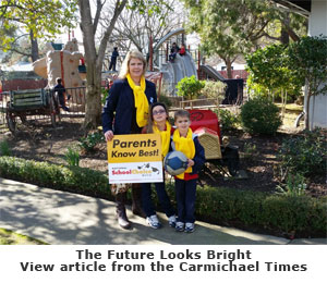 Future Looks Bright - View article from the Carmichael Times